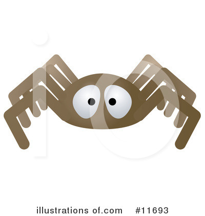 Spider Clipart #11693 by AtStockIllustration