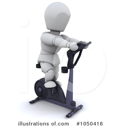Spin Bike Clipart #1050416 by KJ Pargeter