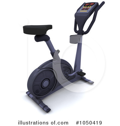 Spin Bike Clipart #1050419 by KJ Pargeter