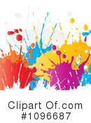 Splatters Clipart #1096687 by KJ Pargeter