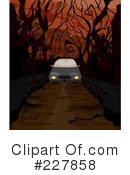 Royalty-Free (RF) Spooky Clipart Illustration #227858