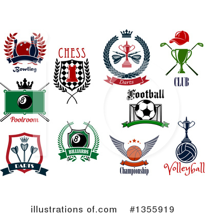 Chess Clipart #1355919 by Vector Tradition SM