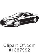 Sports Car Clipart #1367992 by David Rey