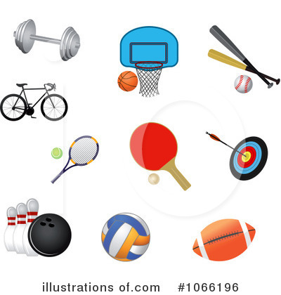 Royalty free rf sports clipart illustration by seamartini graphics