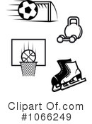 Sports Clipart #1066249 by Vector Tradition SM