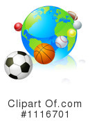 Royalty-Free (RF) Sports Clipart Illustration #1116701