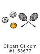 Royalty-Free (RF) Sports Clipart Illustration #1158677