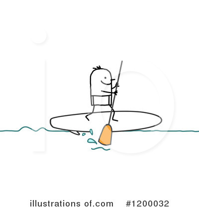 Surfer Clipart #1200032 by NL shop