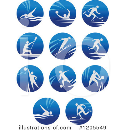 Water Polo Clipart #1205549 by Vector Tradition SM