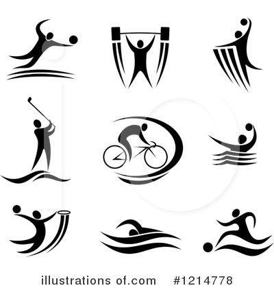 Water Polo Clipart #1214778 by Vector Tradition SM