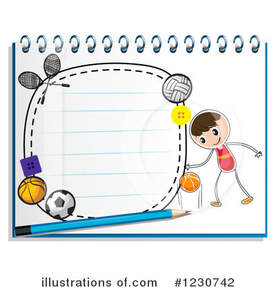 Volleyball Clipart #1230742 by Graphics RF