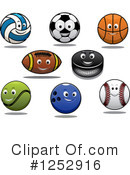 Sports Clipart #1252916 by Vector Tradition SM