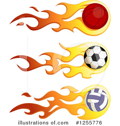 Volleyball Clipart #1255776 by BNP Design Studio