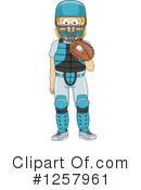 Royalty-Free (RF) Sports Clipart Illustration #1257961