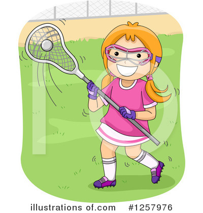 Lacrosse Clipart #1257976 by BNP Design Studio