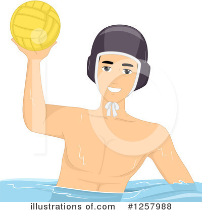 Water Polo Clipart #1257988 by BNP Design Studio