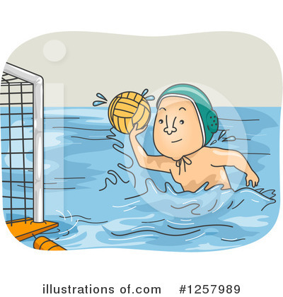 Water Polo Clipart #1257989 by BNP Design Studio