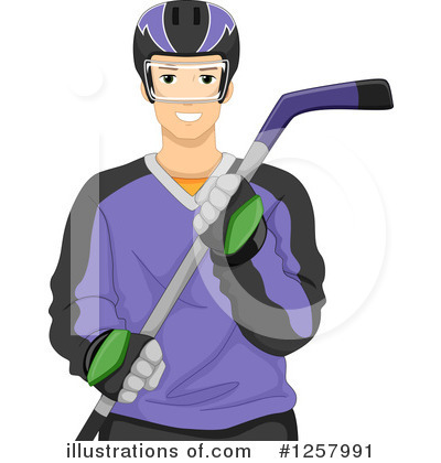 Hockey Clipart #1257991 by BNP Design Studio