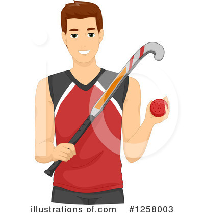 Hockey Clipart #1258003 by BNP Design Studio