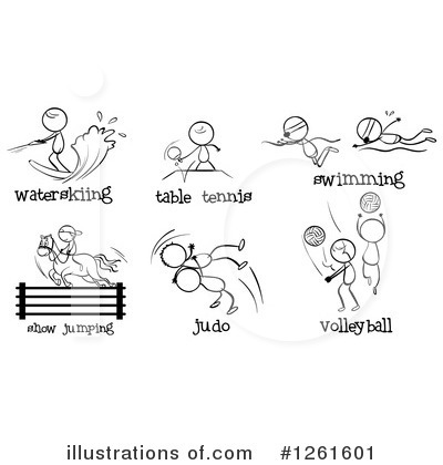 Volleyball Clipart #1261601 by Graphics RF
