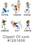 Sports Clipart #1261606 by Graphics RF