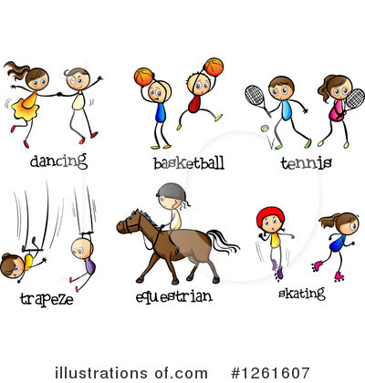 Trapeze Clipart #1261607 by Graphics RF