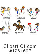 Sports Clipart #1261607 by Graphics RF