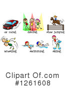 Sports Clipart #1261608 by Graphics RF