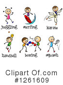 Sports Clipart #1261609 by Graphics RF