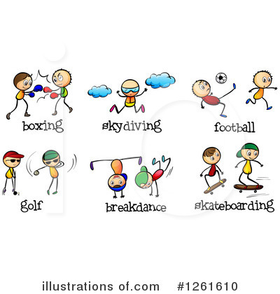 Boxing Clipart #1261610 by Graphics RF