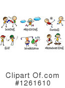 Sports Clipart #1261610 by Graphics RF