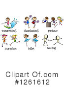Sports Clipart #1261612 by Graphics RF