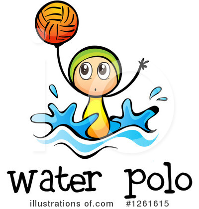Water Polo Clipart #1261615 by Graphics RF