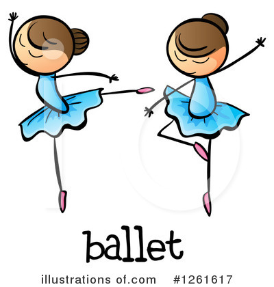 Ballerina Clipart #1261617 by Graphics RF