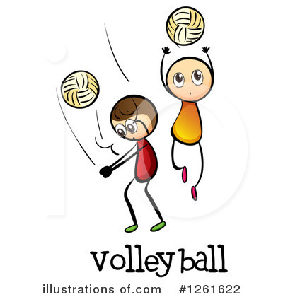 Volleyball Clipart #1261622 by Graphics RF