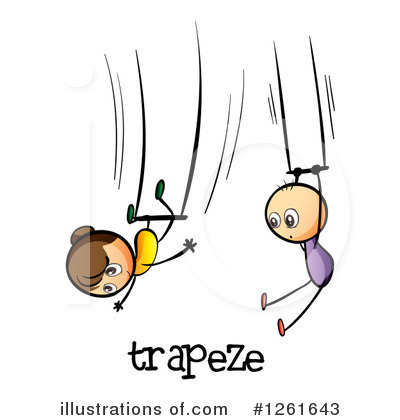 Trapeze Clipart #1261643 by Graphics RF