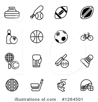 Royalty-Free (RF) Sports Clipart Illustration by AtStockIllustration - Stock Sample #1264501