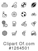 Royalty-Free (RF) Sports Clipart Illustration #1264501