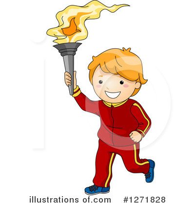 Torch Clipart #1271828 by BNP Design Studio