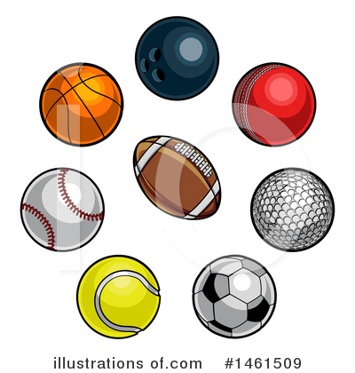 Bowling Ball Clipart #1461509 by AtStockIllustration