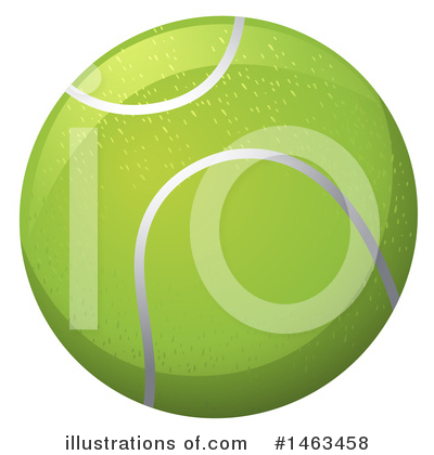 Tennis Clipart #1463458 by Graphics RF