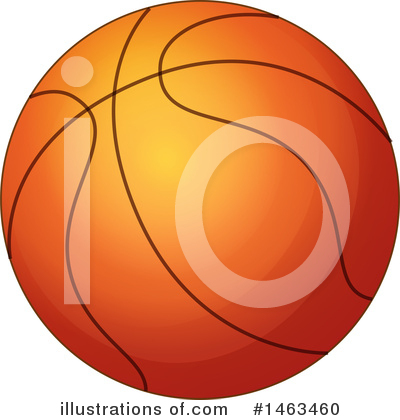 Basketball Clipart #1463460 by Graphics RF