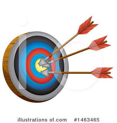 Archery Clipart #1463465 by Graphics RF