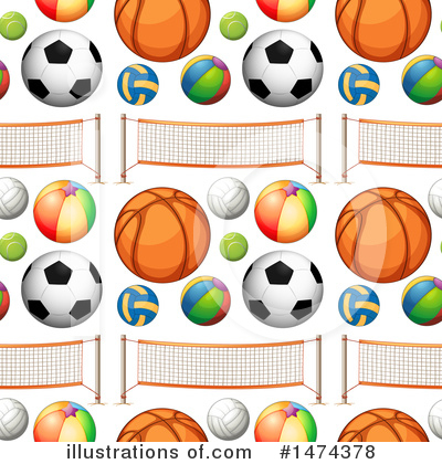 Basketball Clipart #1474378 by Graphics RF