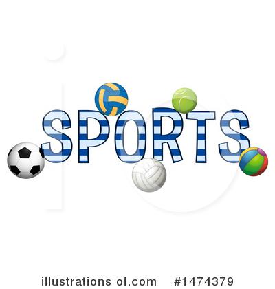 Volleyball Clipart #1474379 by Graphics RF