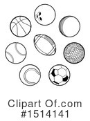 Royalty-Free (RF) Sports Clipart Illustration #1514141
