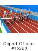Royalty-Free (RF) Sports Clipart Illustration #15228