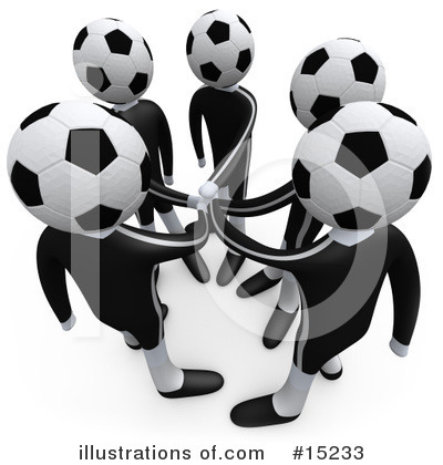 Royalty-Free (RF) Sports Clipart Illustration by 3poD - Stock Sample #15233