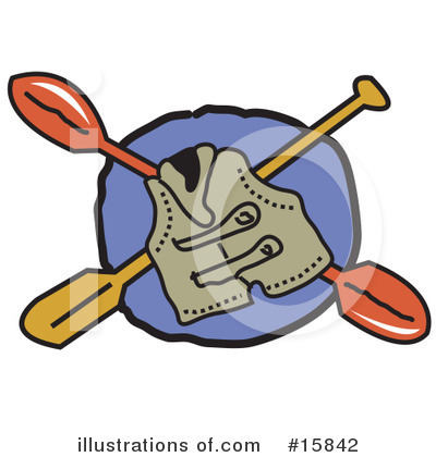 Kayaking Clipart #15842 by Andy Nortnik