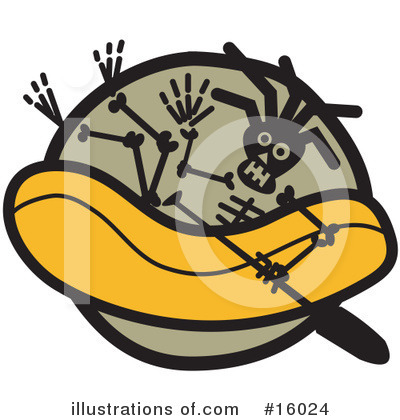 Royalty-Free (RF) Sports Clipart Illustration by Andy Nortnik - Stock Sample #16024
